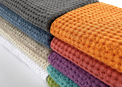 Abyss Pousada Waffle Towels, Giza 70 Egyptian Cotton, 10 Colors