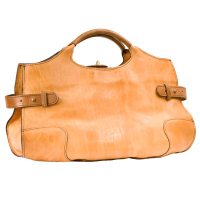Heather Hand Tote - Treviso Natural Luxe