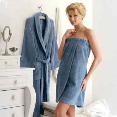 Modal & Cotton Robes from Scandia Down, 2 Colors