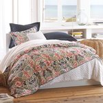 Peacock Alley Catalina Coral Duvet Covers, Shams and Pillows