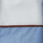 Serena & Lily Chambray Chocolate Trim Sheet Sets