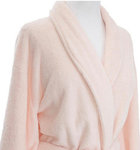 Soft Pink Bath Robe.  Pine Cone Hill Sheepy Fleece Pale Rose Robe