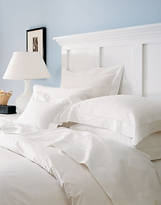 Sferra 800 Thread Count Percale Sheets & Bedding - Sereno