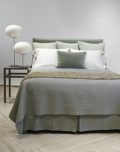 Ann Gish Quilted Linen Cotton Bedding - Ready to Bed