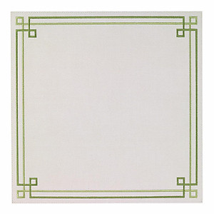 Bodrum Link Green Square Easy Care Placemats - Set of 4
