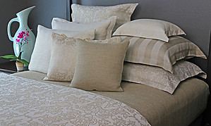 Leitner Grand Camelot Linen Cotton Bedding & Table Linens - 8 Colors