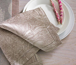 Leitner Fresco Linen Bedding & Table Linens - 15 Colors