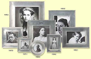 Match Pewter Lombardia Pewter Picture Frame Collection