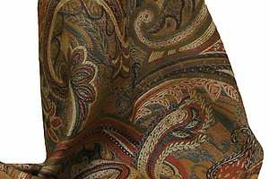 SDH Xerxes Colorful Paisley Bedding