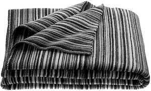 Zoeppritz Tender Dash Striped Throws, 3 Colors