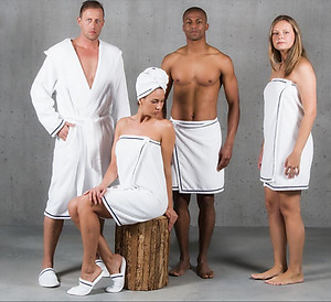 Abyss Saxo Towels & Robes - Egyptian Cotton