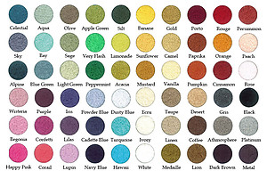 Discontinued Colors: ABYSS + Habidecor