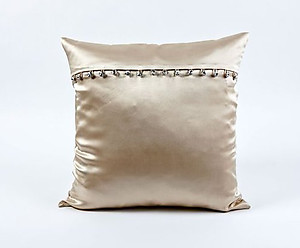 Ann Gish Tiny Crystals Charmeuse Silk Pillows & Shams