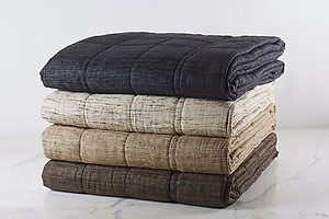 Ann Gish Wild Raw Silk Coverlets, Pillows & Bedding