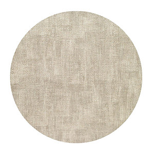 Bodrum Luster Birch Round Easy Care Place Mats - Set of 4