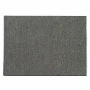 Bodrum Presto Charcoal Grey Rectangle Easy Care Placemats - Set of 6