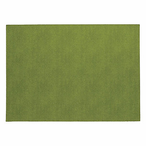 Bodrum Presto Grass Green Rectangle Easy Care Placemats - Set of 6