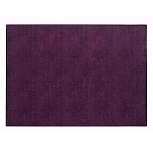 Bodrum Presto Plum Purple Rectangle Easy Care Placemats - Set of 6