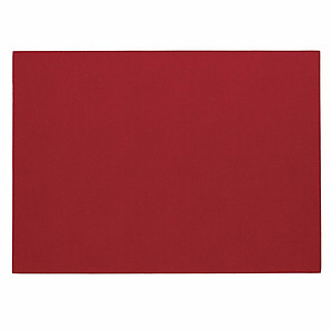 Bodrum Presto Red Rectangle Easy Care Placemats - Set of 6