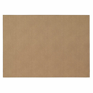 Bodrum Presto Tobacco Brown Rectangle Easy Care Placemats - Set of 6