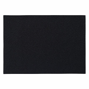 Bodrum Skate Black Rectangle Easy Care Placemats - Set of 4