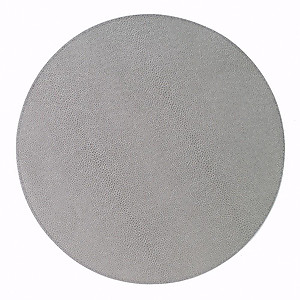 Bodrum Skate Grey Round Easy Care Placemats - Set of 4