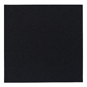 Bodrum Skate Black Square Easy Care Placemats - Set of 4