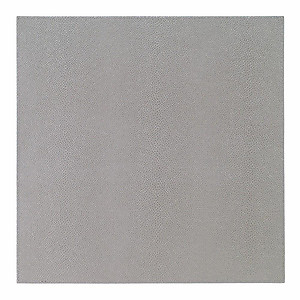 Bodrum Skate Grey Square Easy Care Placemats - Set of 4