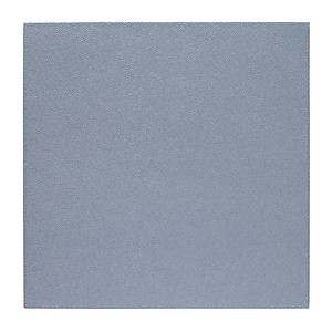 Bodrum Skate Ice Blue Square Easy Care Placemats - Set of 4