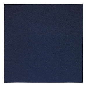 Bodrum Skate Navy Blue Square Easy Care Placemats - Set of 4