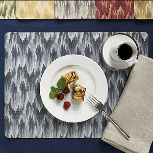 SFERRA Flame Wipeable Placemats, 3 Colors