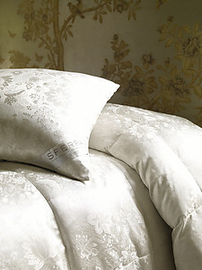 Utopia Eider Down Comforters and Pillows by SFERRA