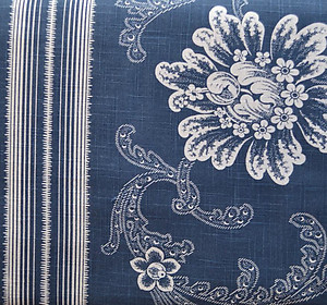 Antique Indigo Shower Curtain - The Chandler Collection