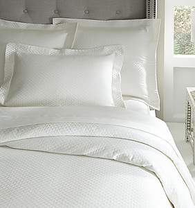 Sferra Diamond Pique Bedding - Bari