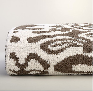 Kashwere Damask Malt and Agate Brown Throw Blanket