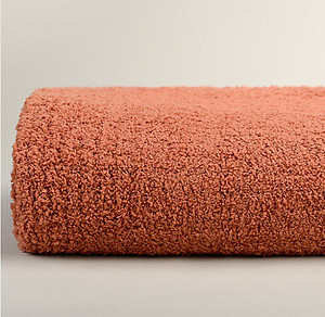 Orange Throw Blanket - Kashwere Terracotta