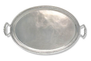 Match Pewter Oval Trays