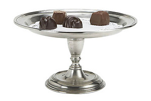 Match Pewter Small Pedestal Tray