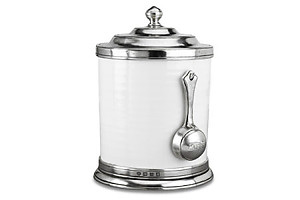 Match Pewter Convivio Caffe Cannister with Scoop