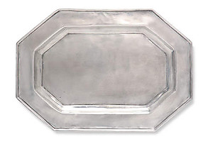 Match Pewter Octagonal Tray