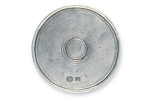 Match Pewter Round Coasters