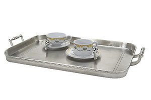 Match Pewter Large Gallery Tray with Handles