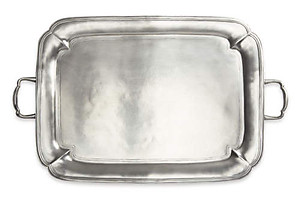 Match Pewter Large Parma Tray with Handles