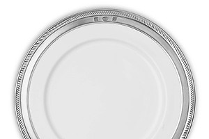 Match Pewter Luisa Salad or Dessert Plate, item A852.0