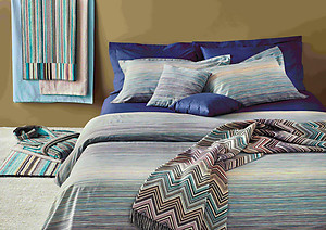 Missoni Home Jill Color 170 Striped Duvet Covers and Sheets
