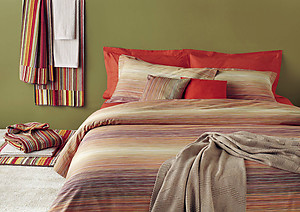 Missoni Home Jill Color 149 Striped Duvet Covers and Sheets