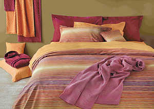 Missoni Home Jill Color 156 Striped Duvet Covers and Sheets