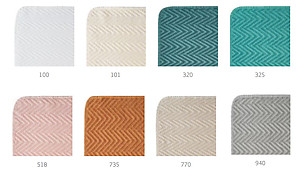 Abyss Montana Towels - Colorful Zig Zag Chevron