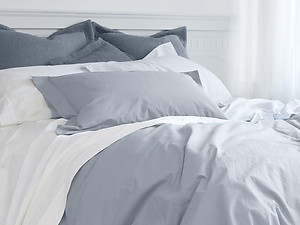 St Geneve Venice Solid Percale Sheets & Bedding