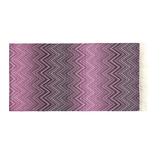 Missoni Timmy Purple Throw Blanket - Color 491